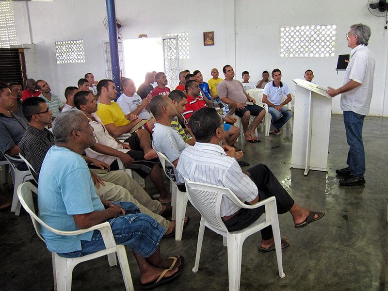 Ensinando na Cristolândia